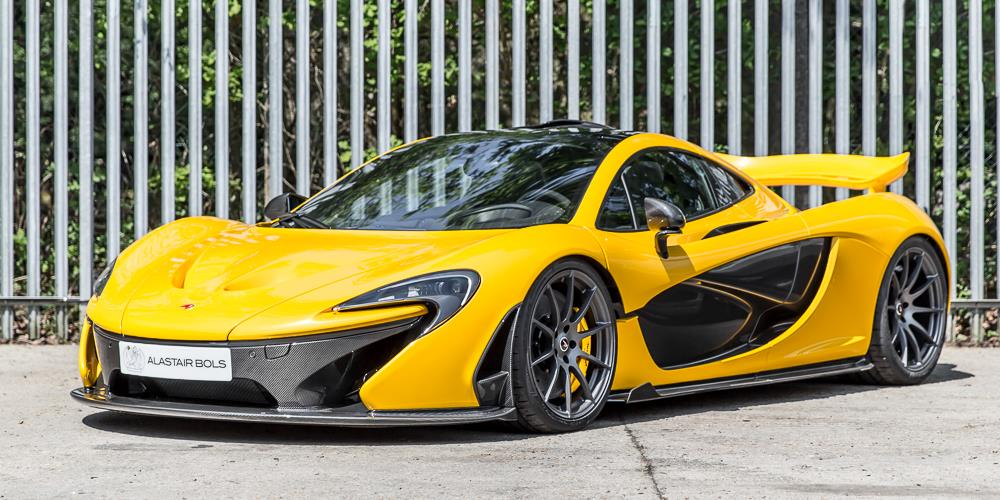 2016 Mclaren P1 For With Only 3 Miles