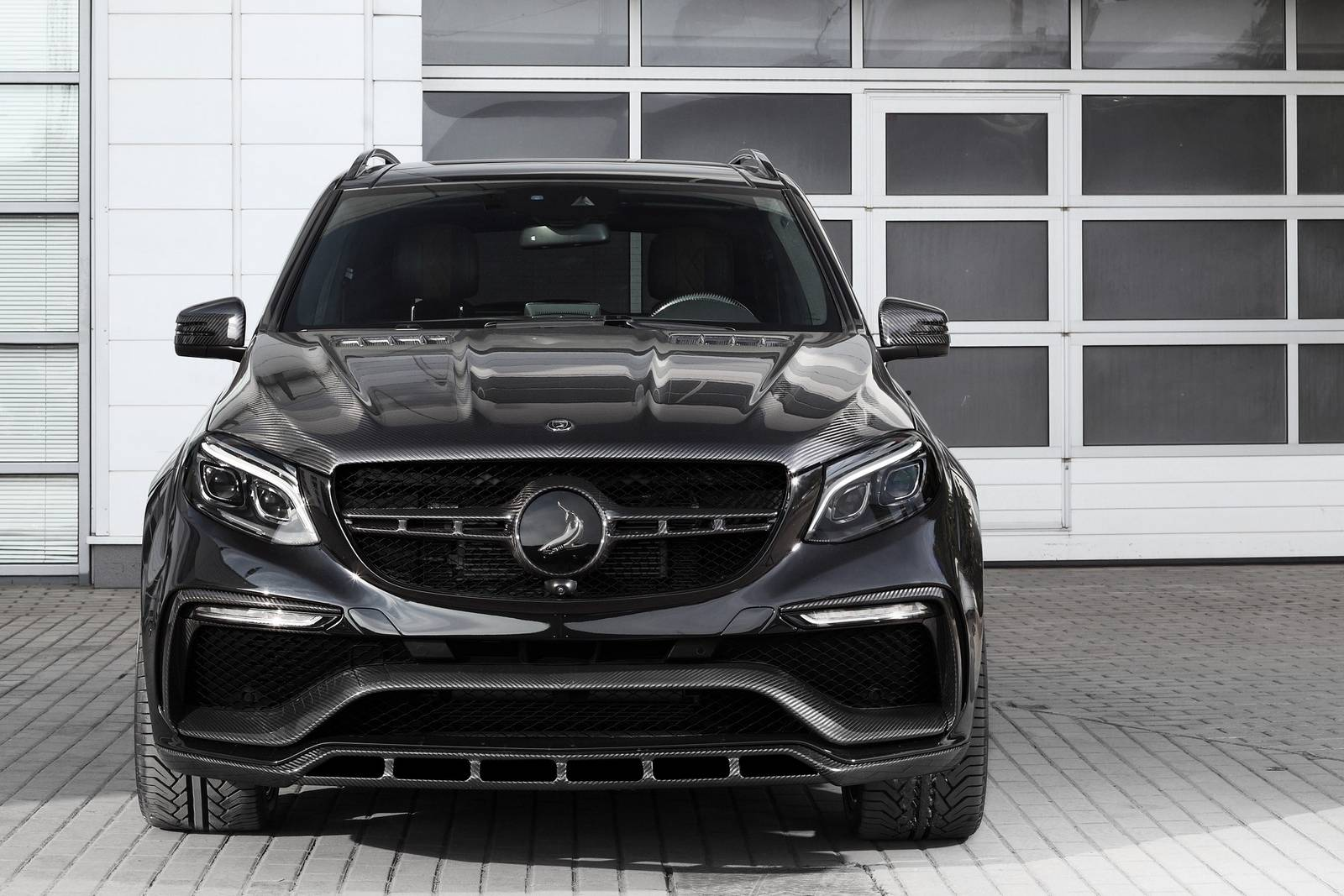 black mercedes amg gle 63 inferno by topcar gtspirit. Black Bedroom Furniture Sets. Home Design Ideas