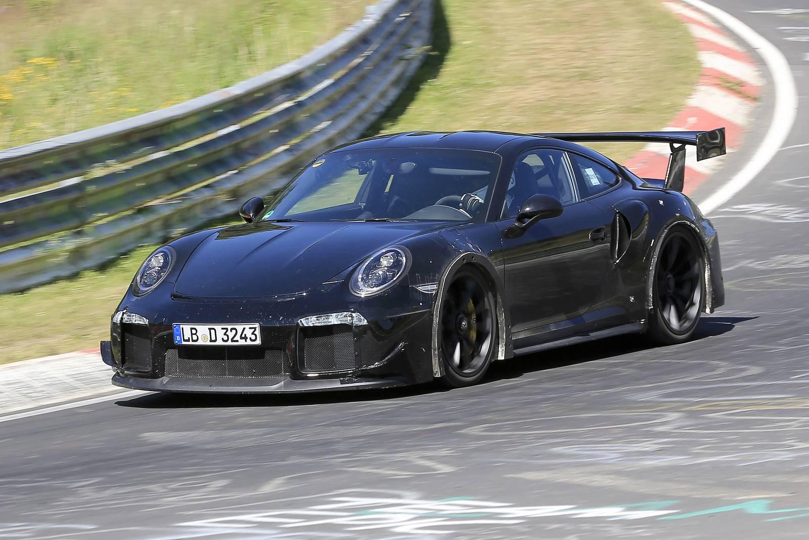 2018 Porsche 911 Gt2 Spy Shots At The Nurburgring Gtspirit