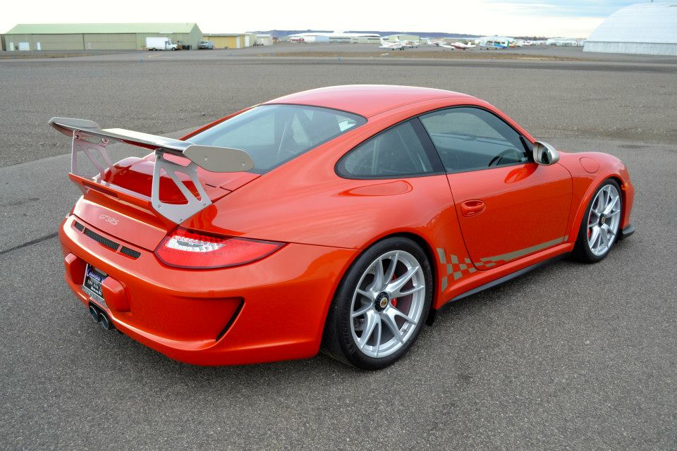 Rare Zanzibar Red Porsche 911 GT3 RS, 1 of 2 in the World ...