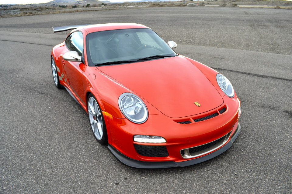 Rare Zanzibar Red Porsche 911 GT3 RS, 1 of 2 in the World