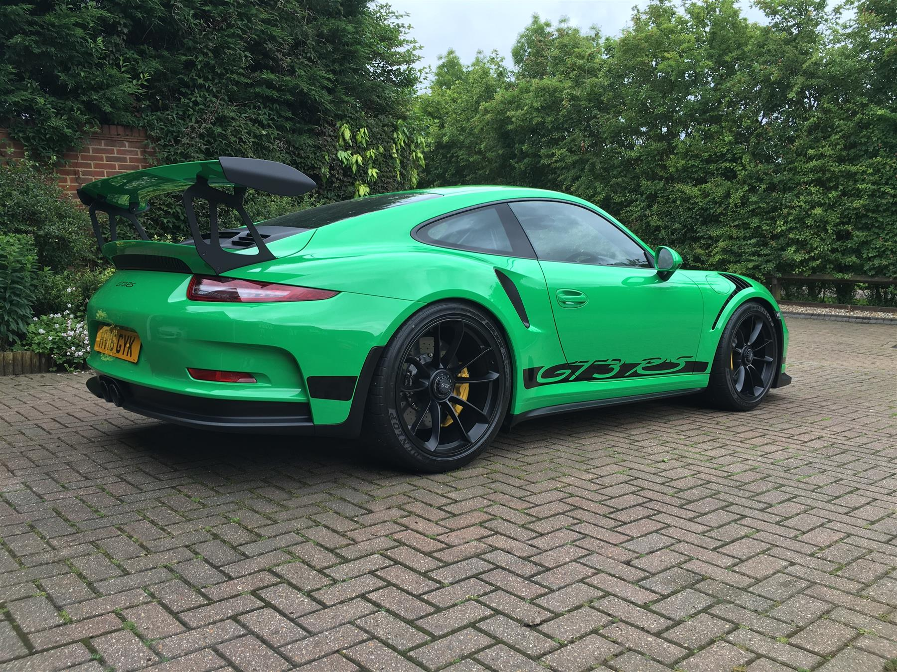 2016 rs green porsche 911 gt3 rs for sale at 321 000 in. Black Bedroom Furniture Sets. Home Design Ideas