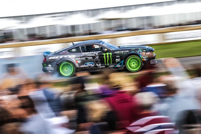 Drift Cars at the Goodwood Festival of Speed 201636