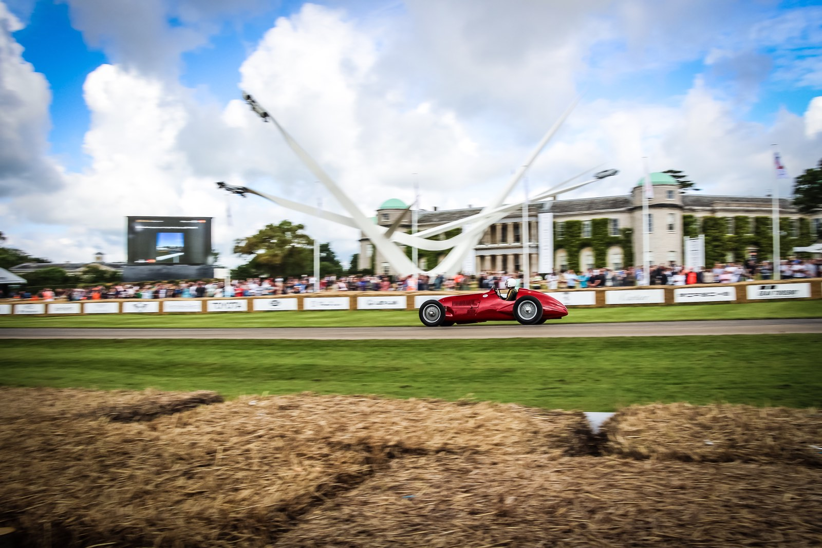 Vintage Maserati at the Goodwood Festival of Speed 2016