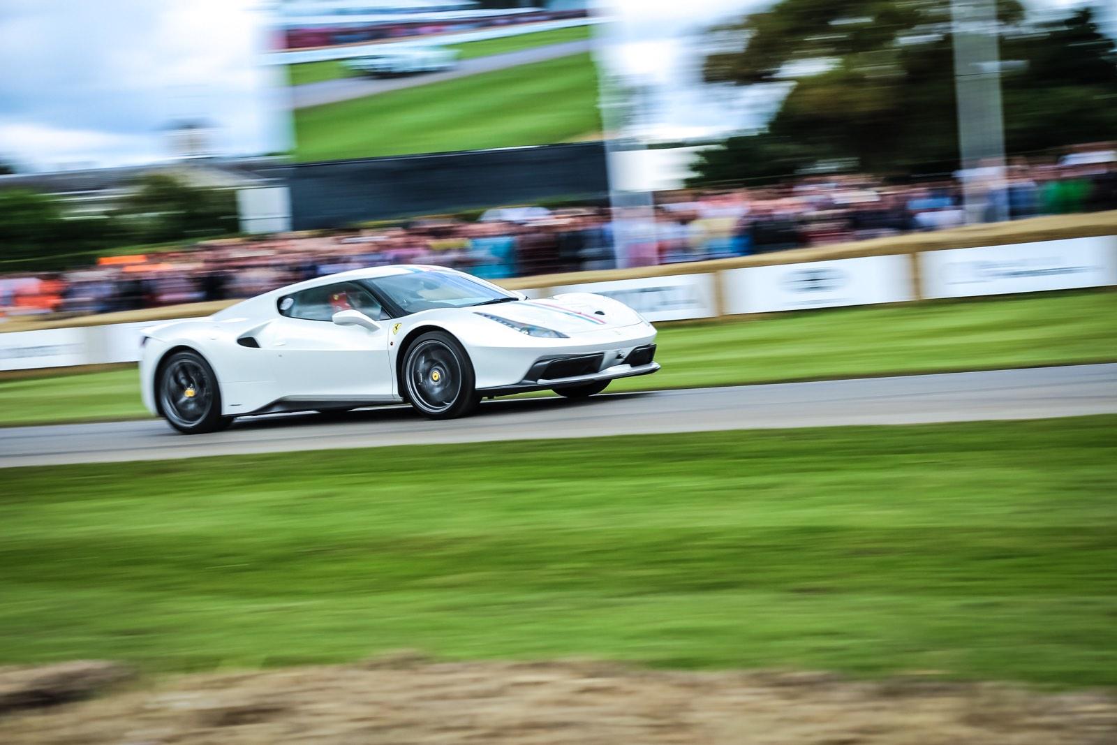 Full Throttle At The Goodwood Festival Of Speed 2016