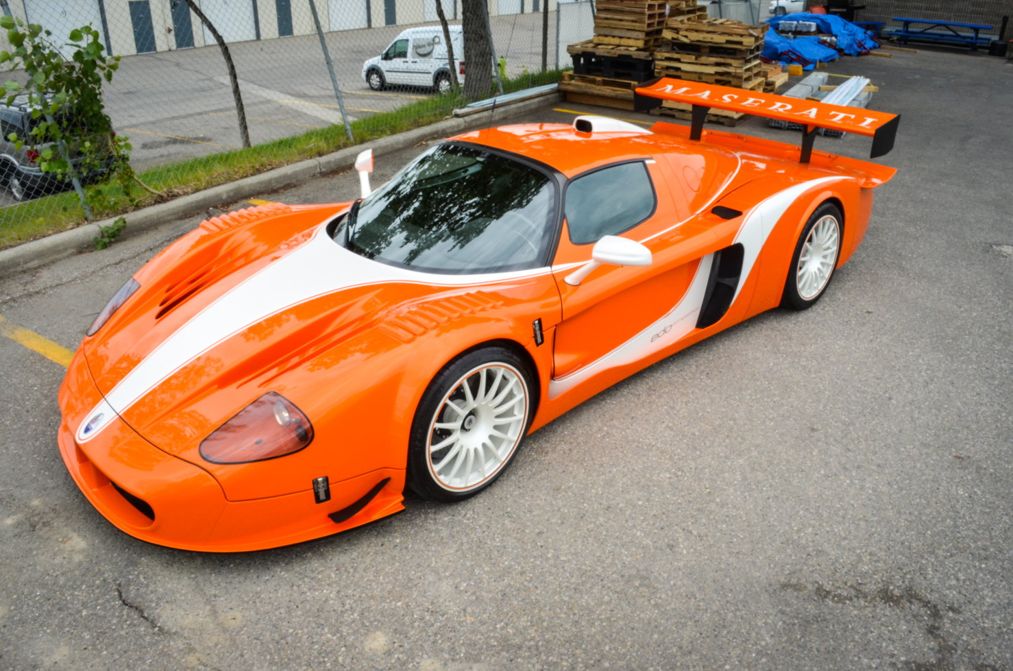 edo competition maserati mc12 corsa for sale in canada gtspirit. Black Bedroom Furniture Sets. Home Design Ideas