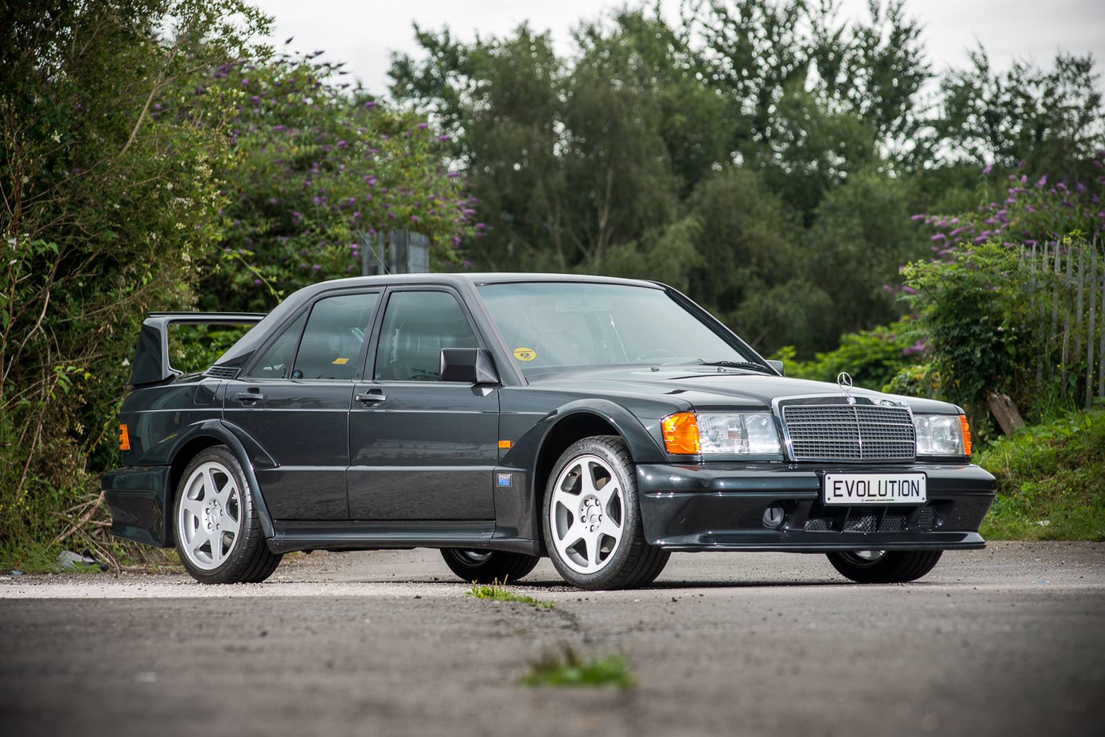 Rare Mercedes Benz 190e 2 5 16 Evo 2 Eyes For 286k Auction Price