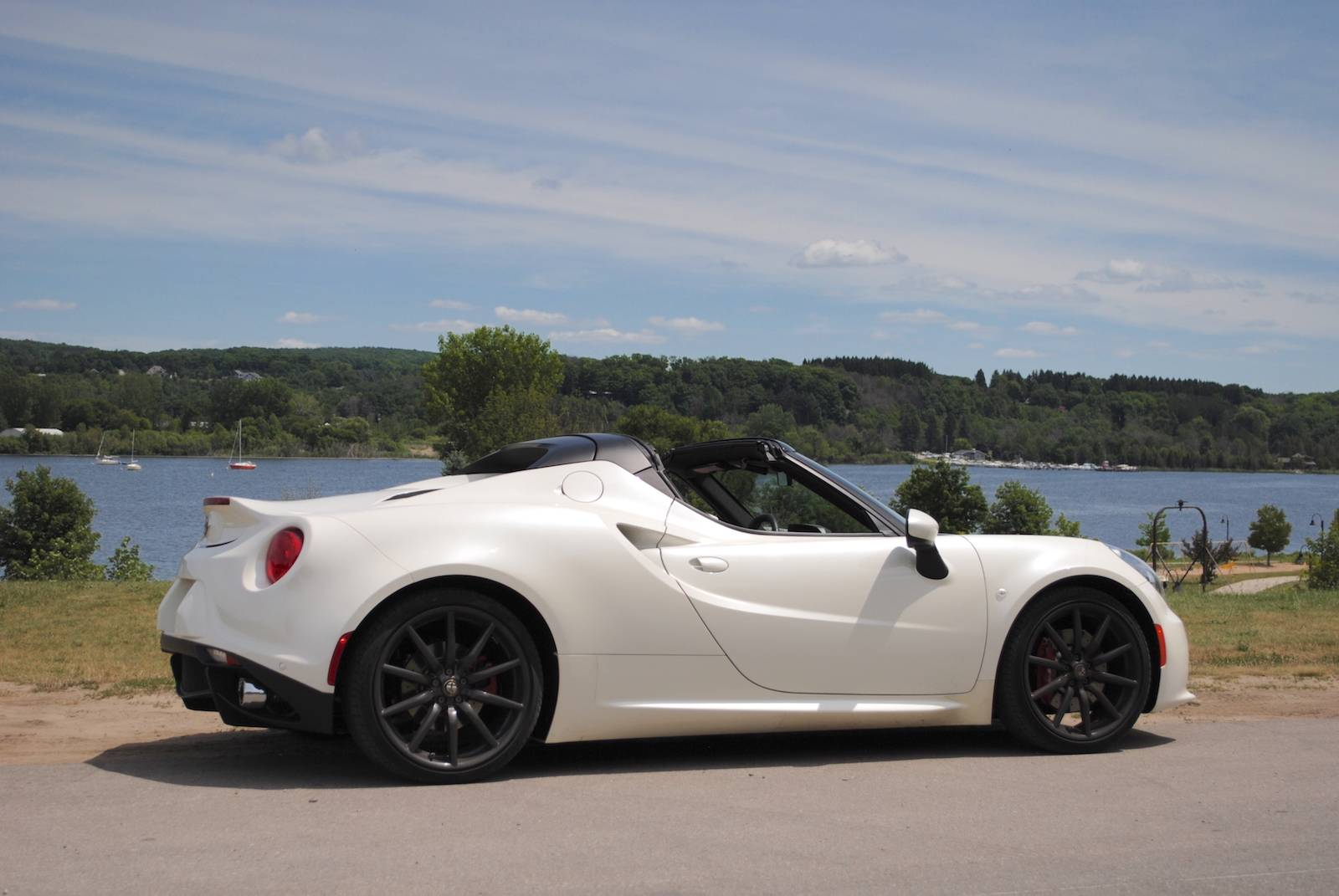 Alfa Romeo 4C Spider review  Business Insider