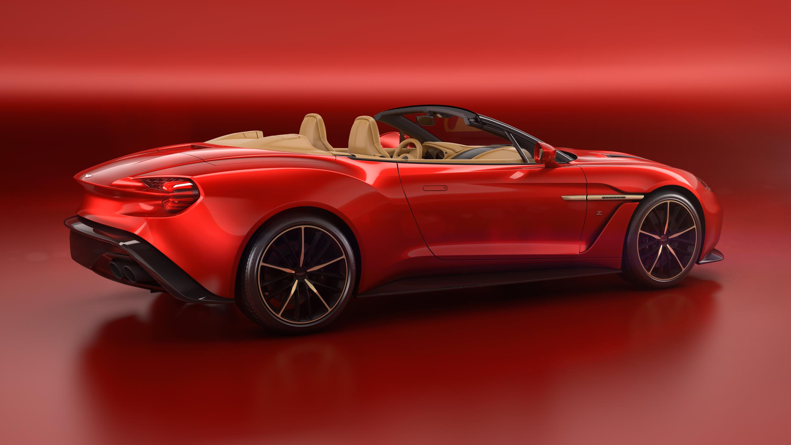 official aston martin vanquish zagato volante gtspirit. Black Bedroom Furniture Sets. Home Design Ideas