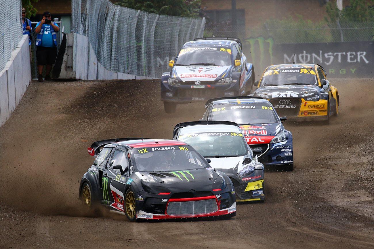 Rallycross Solberg Regains Championship Lead Amp Escapes