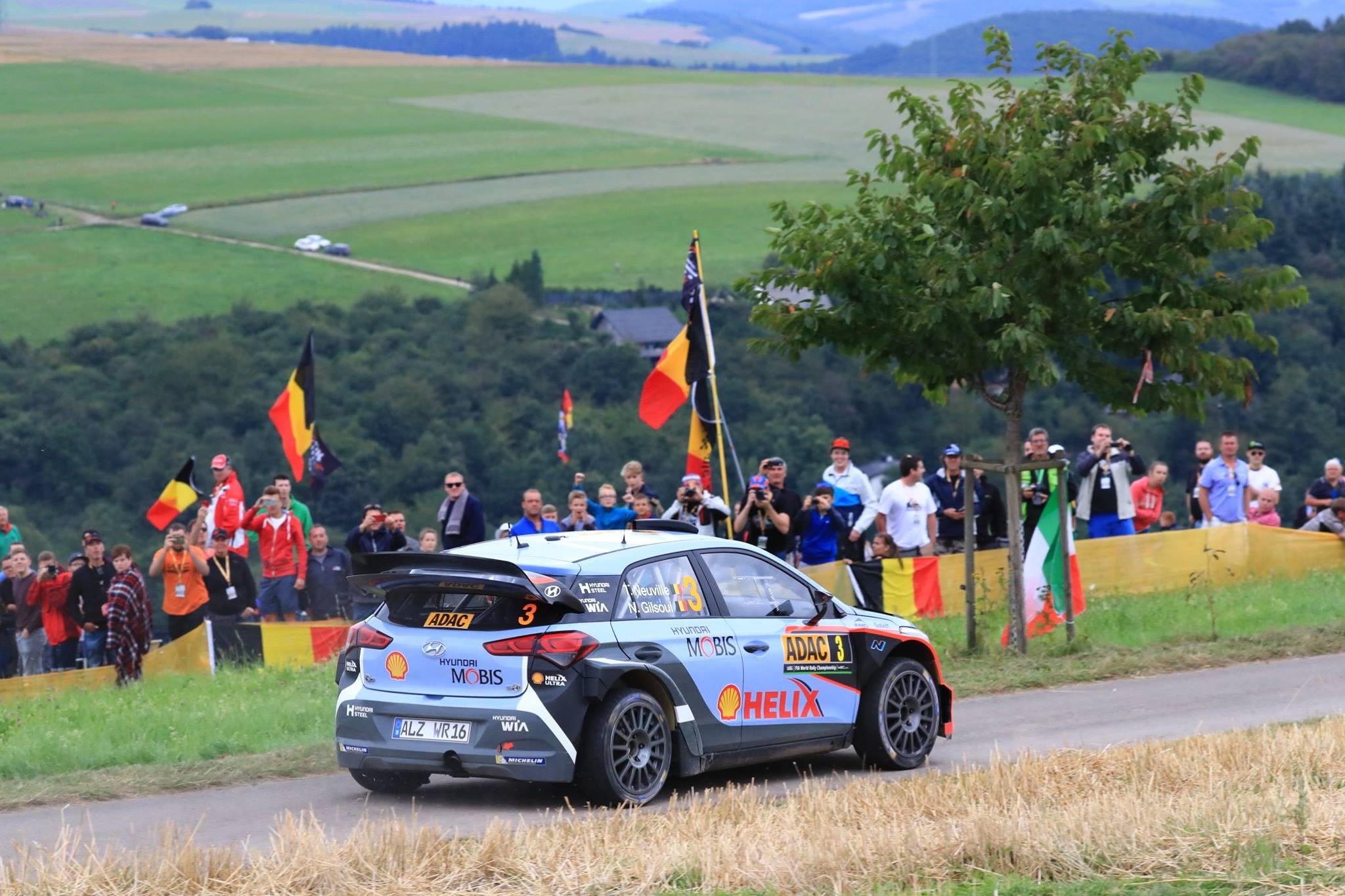 Wrc Ogier Breaks Winless Spell To Win Rally Deutschland