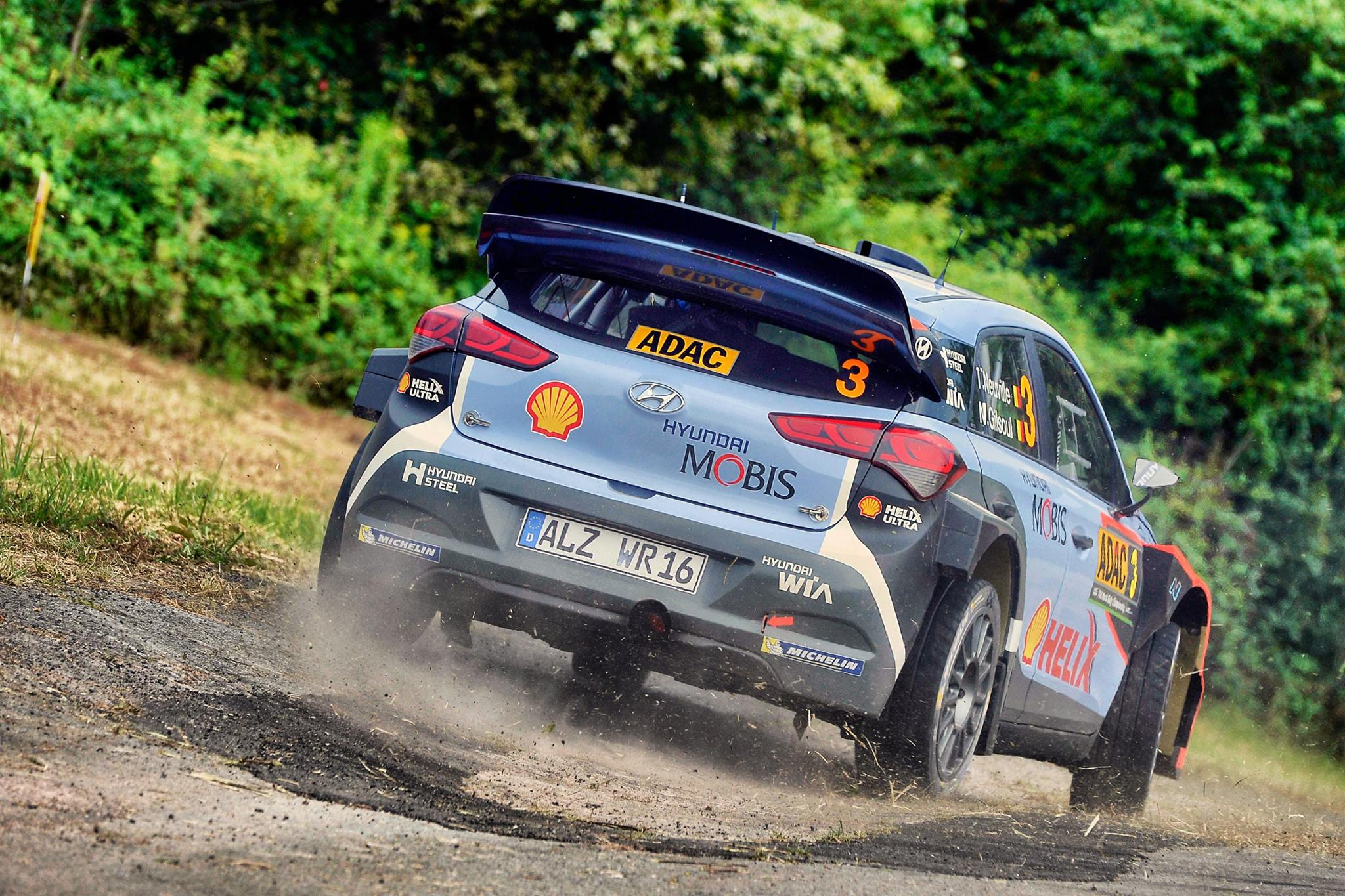 Wrc Ogier Breaks Winless Spell To Win Rally Deutschland