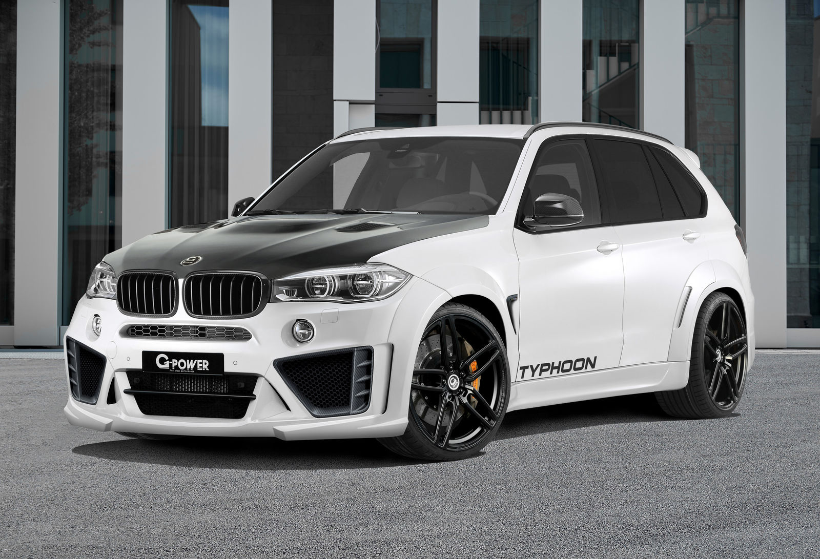official 2016 g power bmw x5 m typhoon with 750hp gtspirit. Black Bedroom Furniture Sets. Home Design Ideas