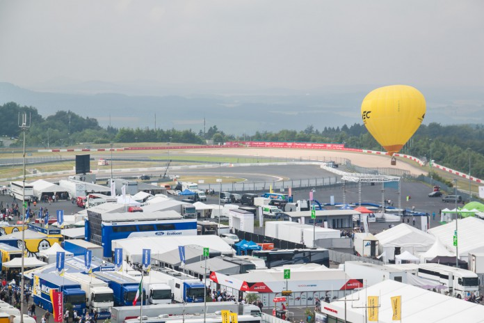 View from the TÜV Rheintower at WEC 6 Hours of Nürburgring 2016.  (c) Niels Stolte / GTspirit.com
