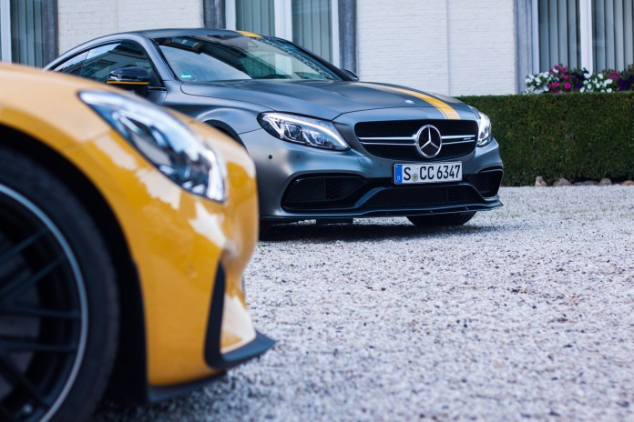 Mercedes AMG-GTS and C63 s Coupe Edition One by Niels Stolte / GTspirit.com