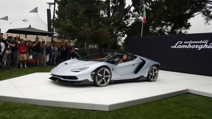 Lamborghini Centenario Roadster at The Quail 2016 Photo by Ted 7