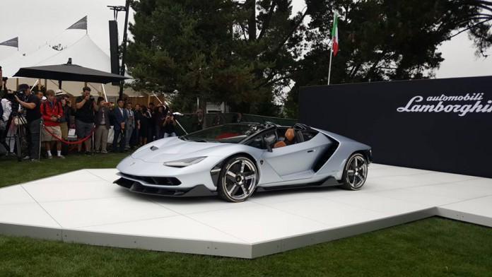 Lamborghini Centenario Roadster at The Quail 2016 Photo by Ted 7
