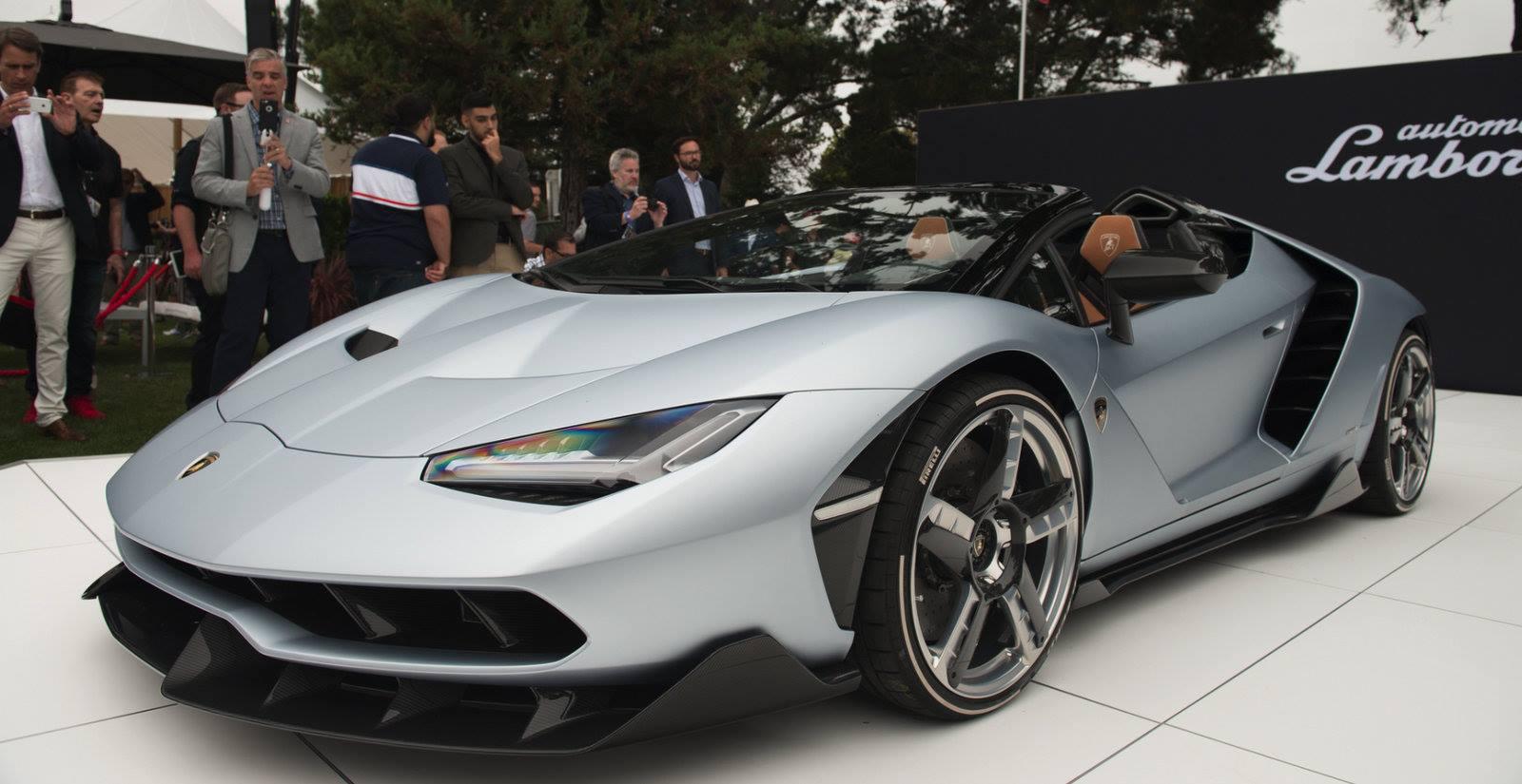 Monterey Car Week 2016 Lamborghini Centenario Roadster