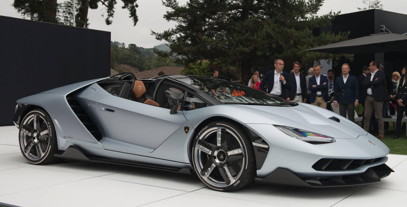 Monterey Car Week 2016: Lamborghini Centenario Roadster