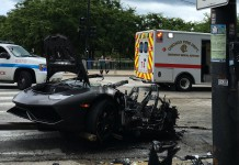 Lamborghini Crash Chicago