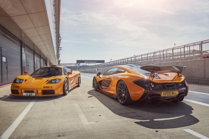 McLaren F1 GTR vs P1 (2)