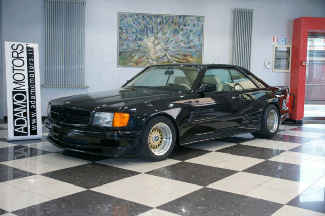 Rare mercedes benz 560 sec amg special koenig for sale at for Mercedes benz 560sec for sale