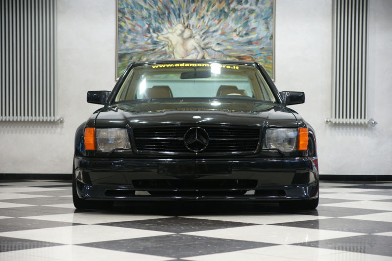 rare mercedes benz 560 sec amg special koenig for sale at
