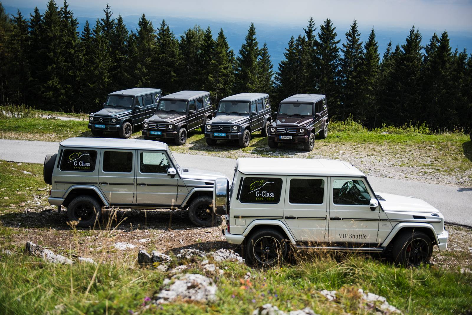 Special report the ultimate mercedes benz g class for Mercedes benz g class pictures
