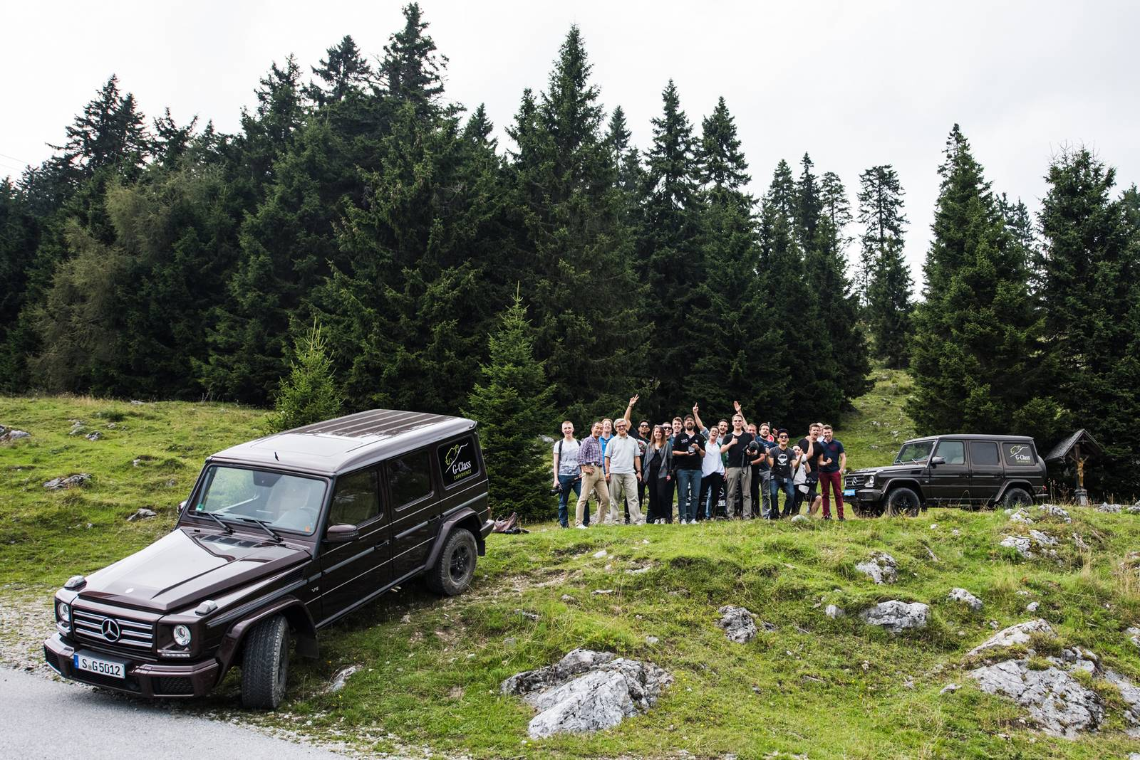 Special report the ultimate mercedes benz g class for Mercedes benz lake forest