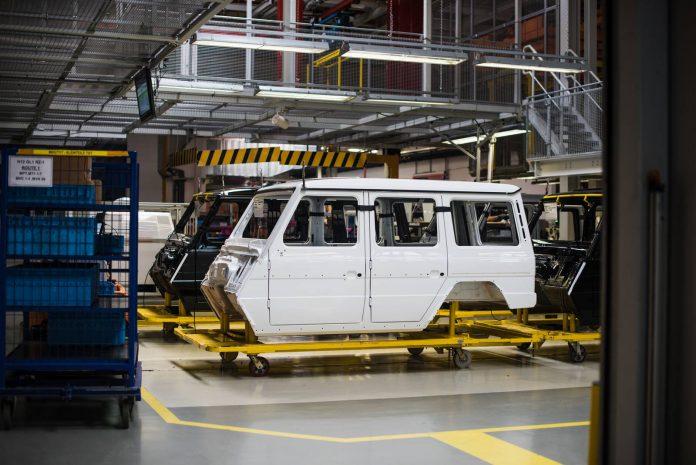 #ChasingStars - Mercedes-Benz G-Class Factory