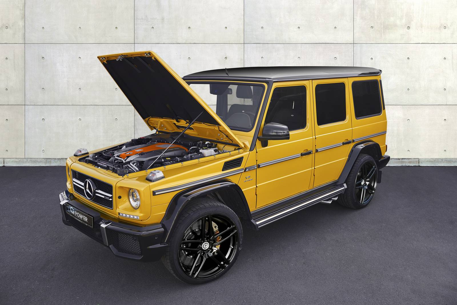 Official g power mercedes benz g63 amg with 645hp gtspirit for Official mercedes benz parts