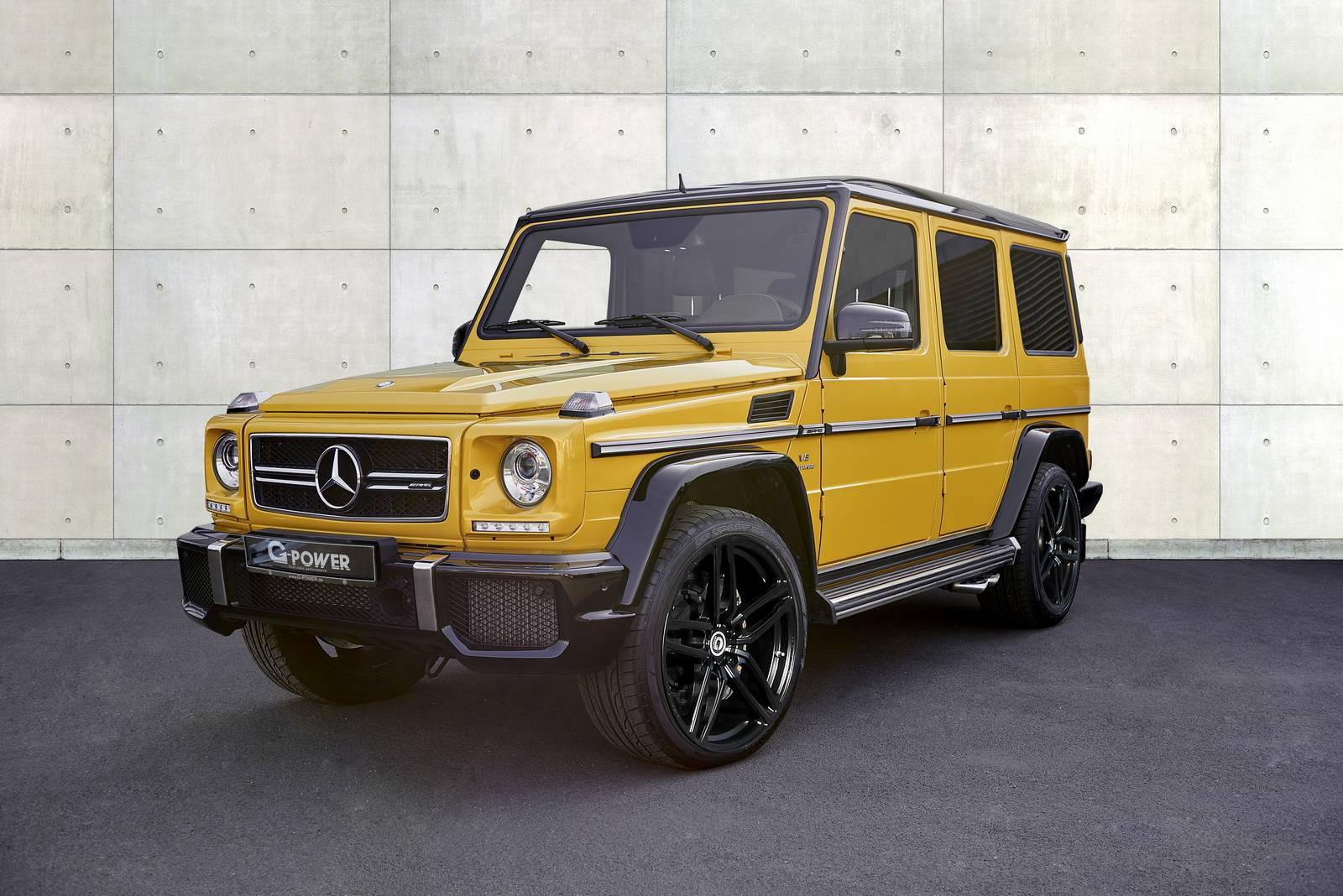 Official g power mercedes benz g63 amg with 645hp gtspirit for Mercedes benz glk amg