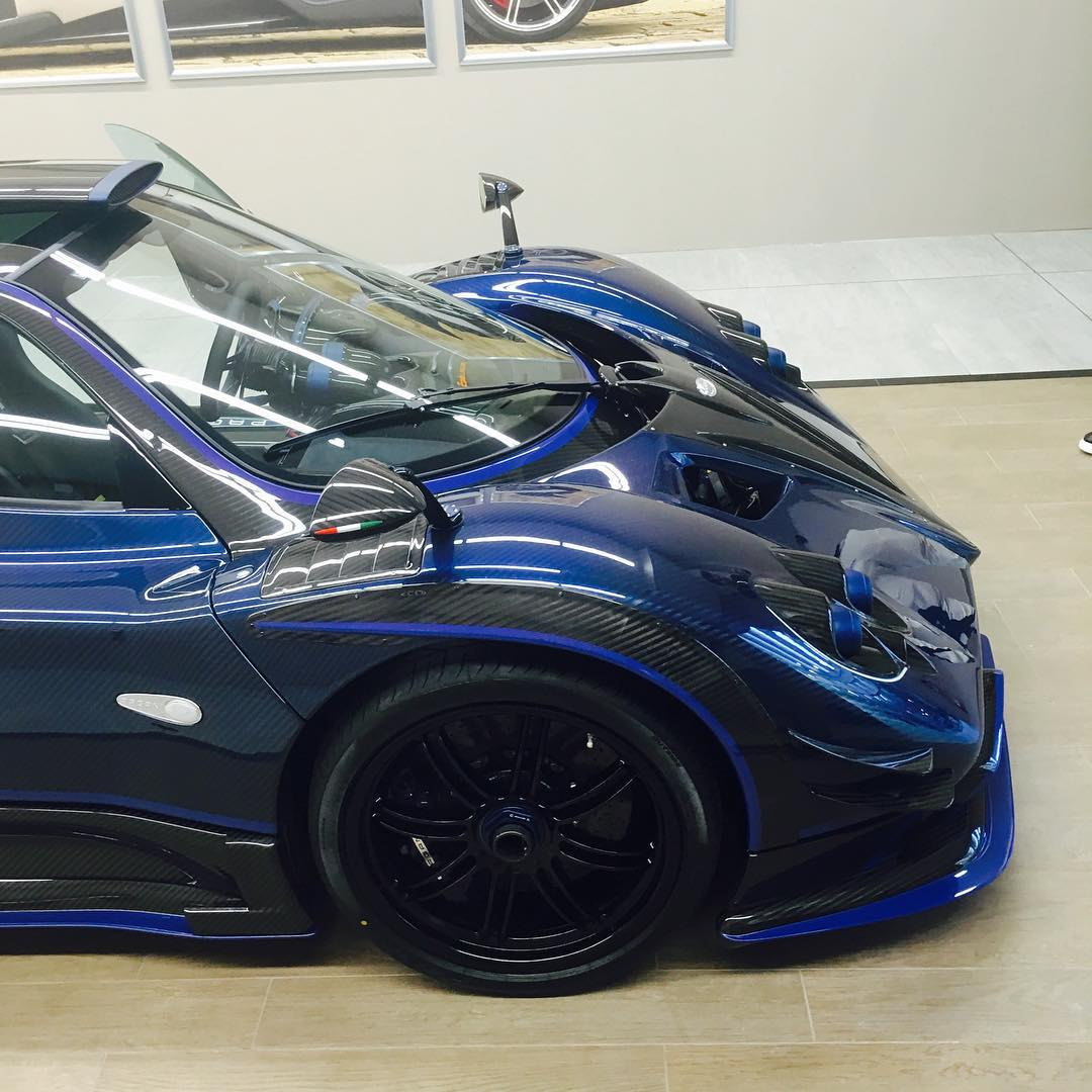 Another One Off Zonda Emerges Pagani Zonda By Mileson