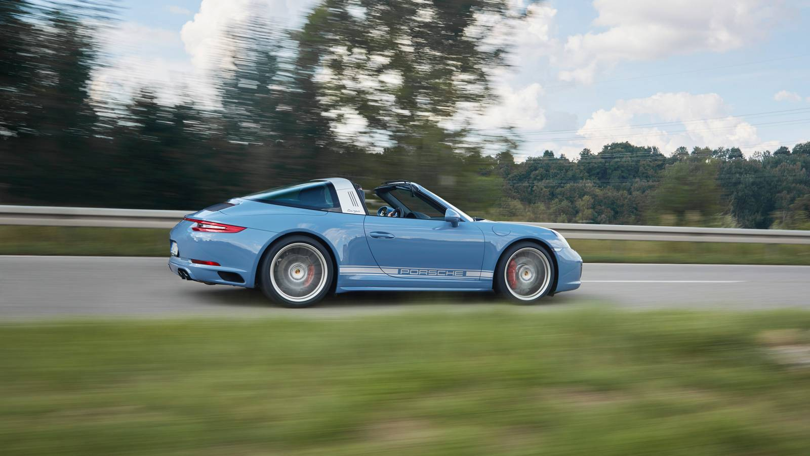 Official 2017 Porsche 911 Targa 4s Exclusive Design
