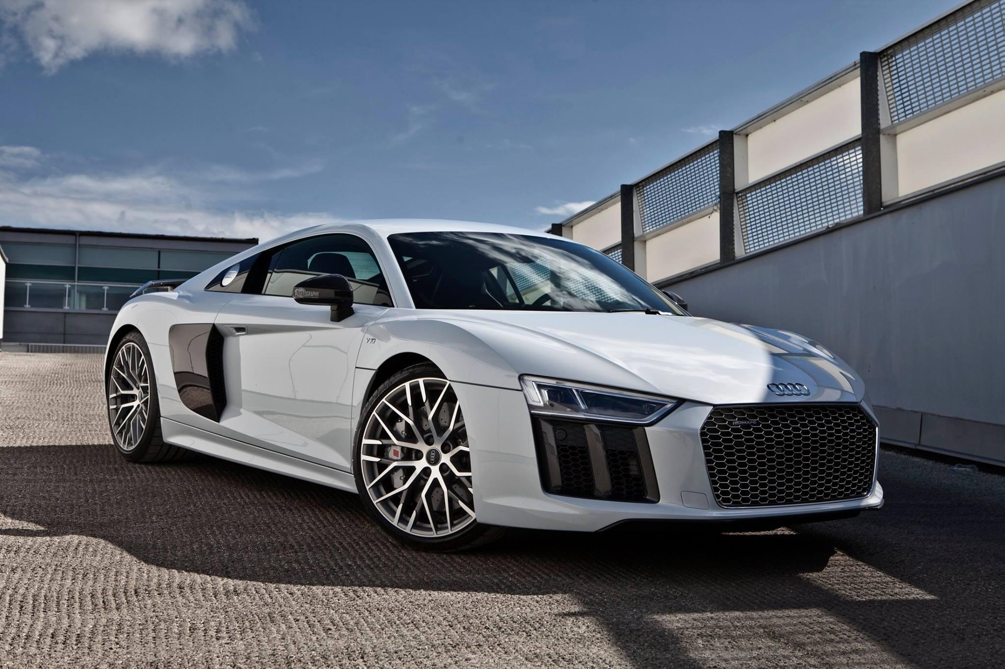 Gallery Stunning Suzuka Grey Metallic 2017 Audi R8 V10