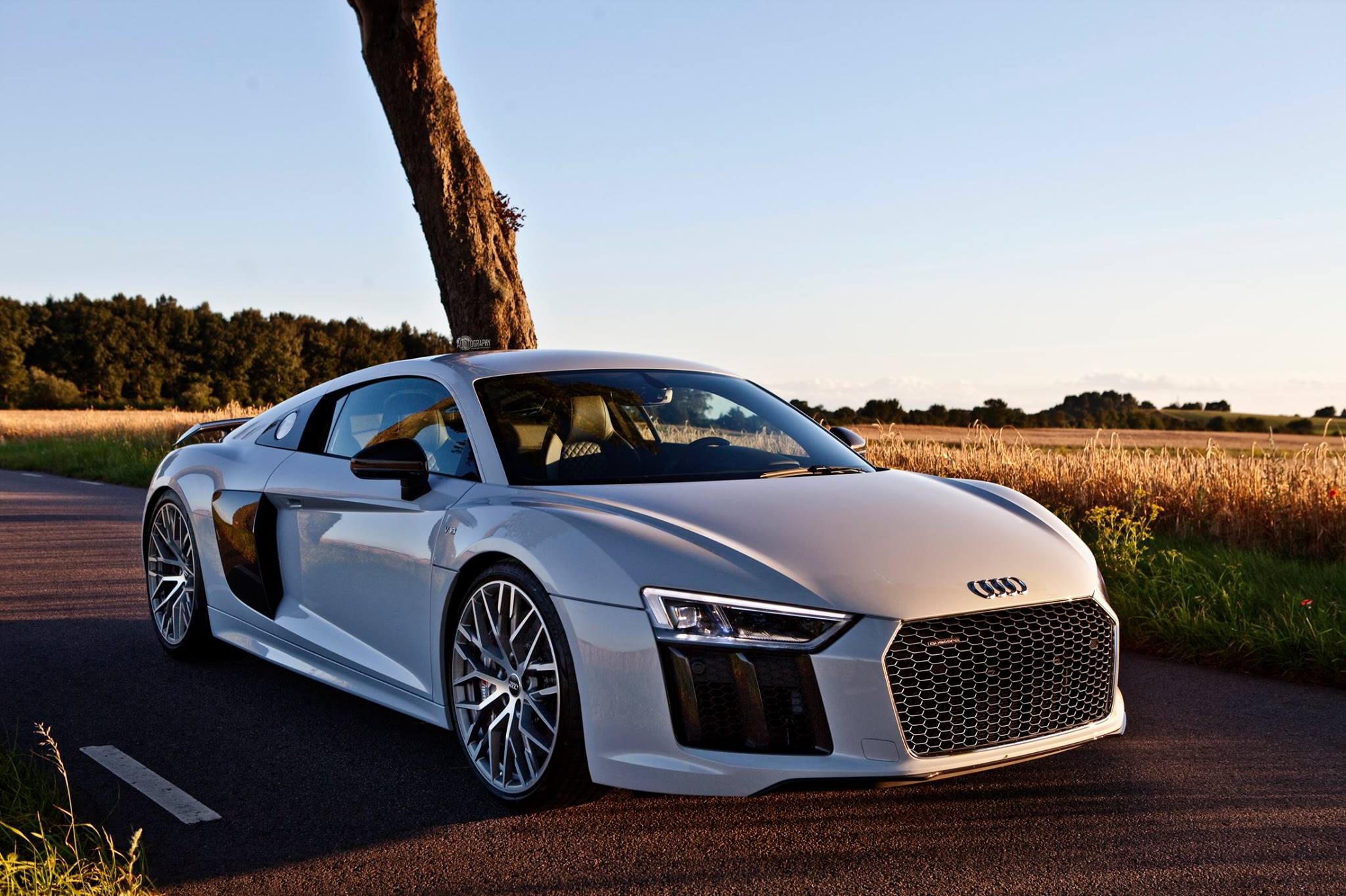 2017 Audi R8 V10 Plus Supercar