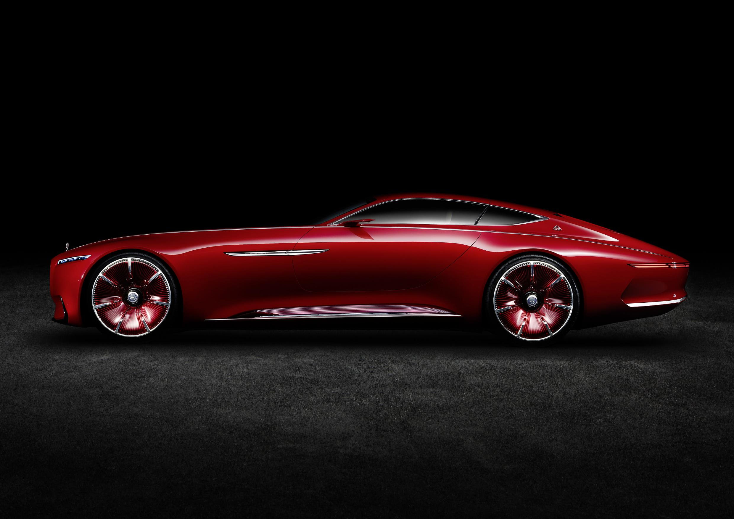 official 750hp all electric vision mercedes maybach 6 gtspirit. Black Bedroom Furniture Sets. Home Design Ideas