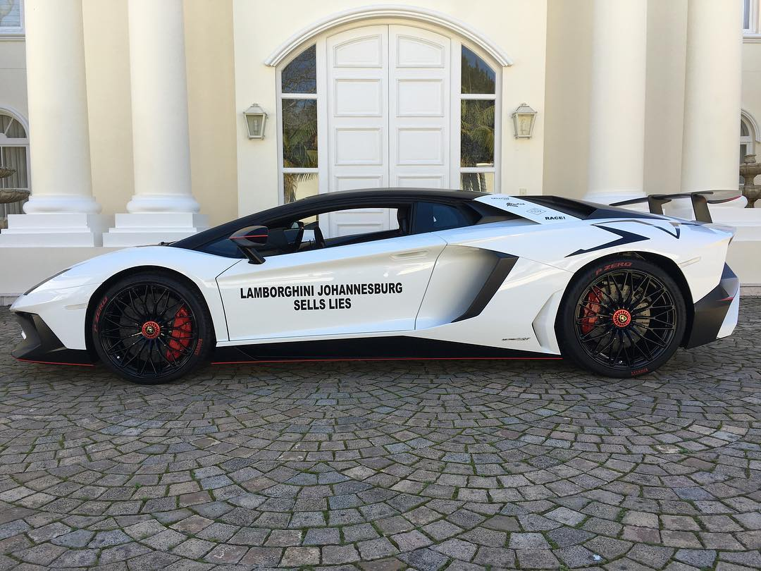 Laferrari In South Africa >> Guy Furious at Dealer for Not Being the Only Aventador SV Owner in South Africa - GTspirit