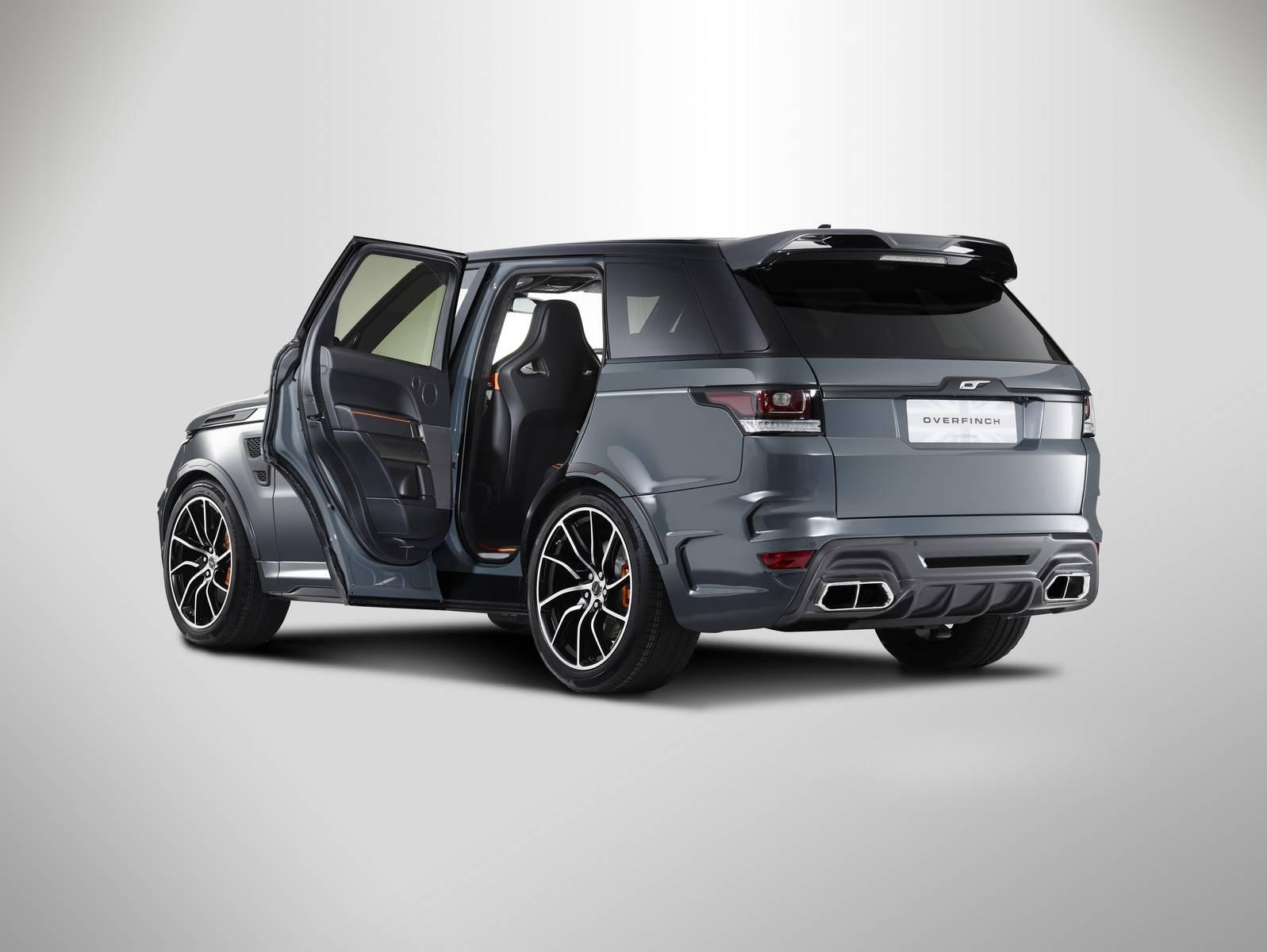 official 2016 range rover supersport by overfinch gtspirit. Black Bedroom Furniture Sets. Home Design Ideas