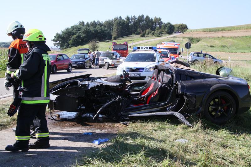 Noble M600 Supercar Crash