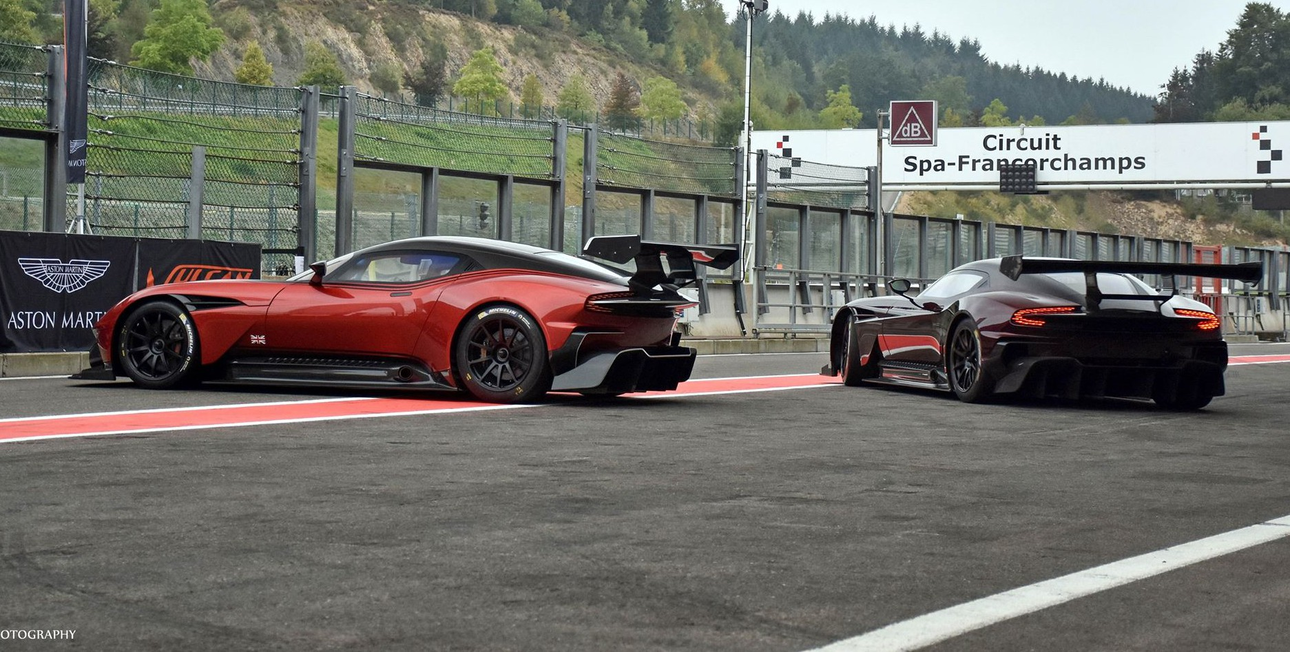 Gallery Aston Martin Vulcan Attack At Spa Francorchamps