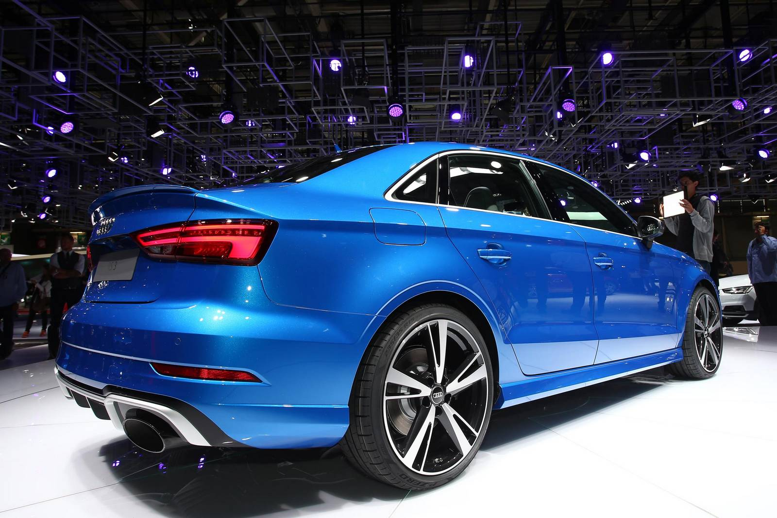 Paris 2016: Audi RS3 Sedan - GTspirit