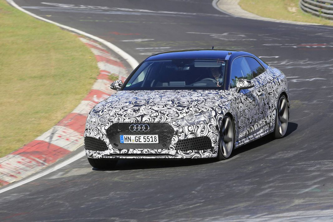 Audi RS5 Coupe Debut Geneva 2017