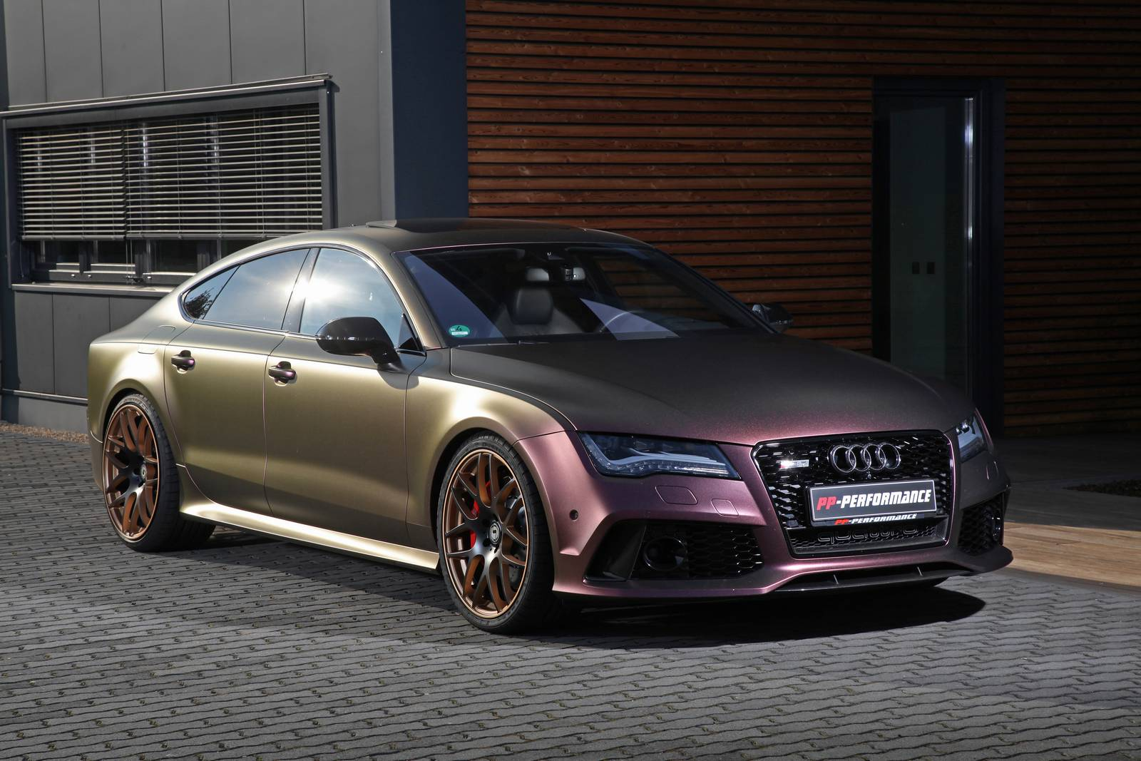 Sparkling Berry Wrapped Audi Rs7 With 745hp By Pp Performance Gtspirit
