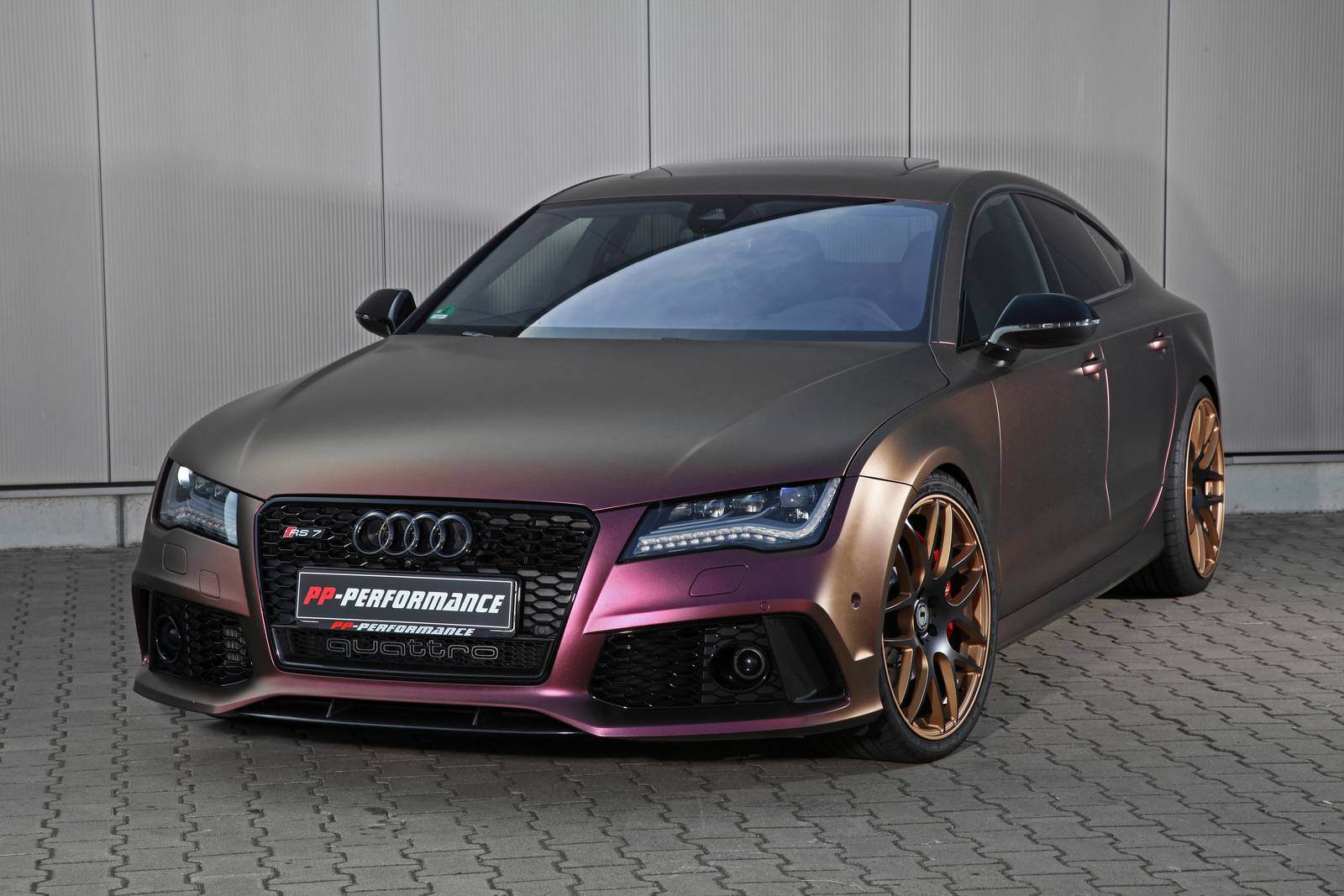 Sparkling Berry Wrapped Audi Rs7 With 745hp By Pp