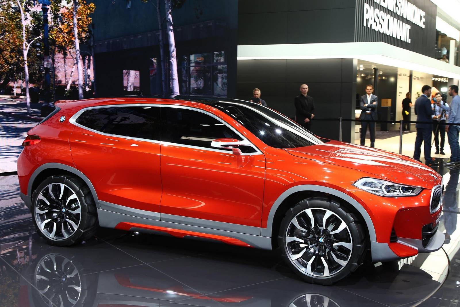 Paris 2016 Bmw X2 Concept Gtspirit