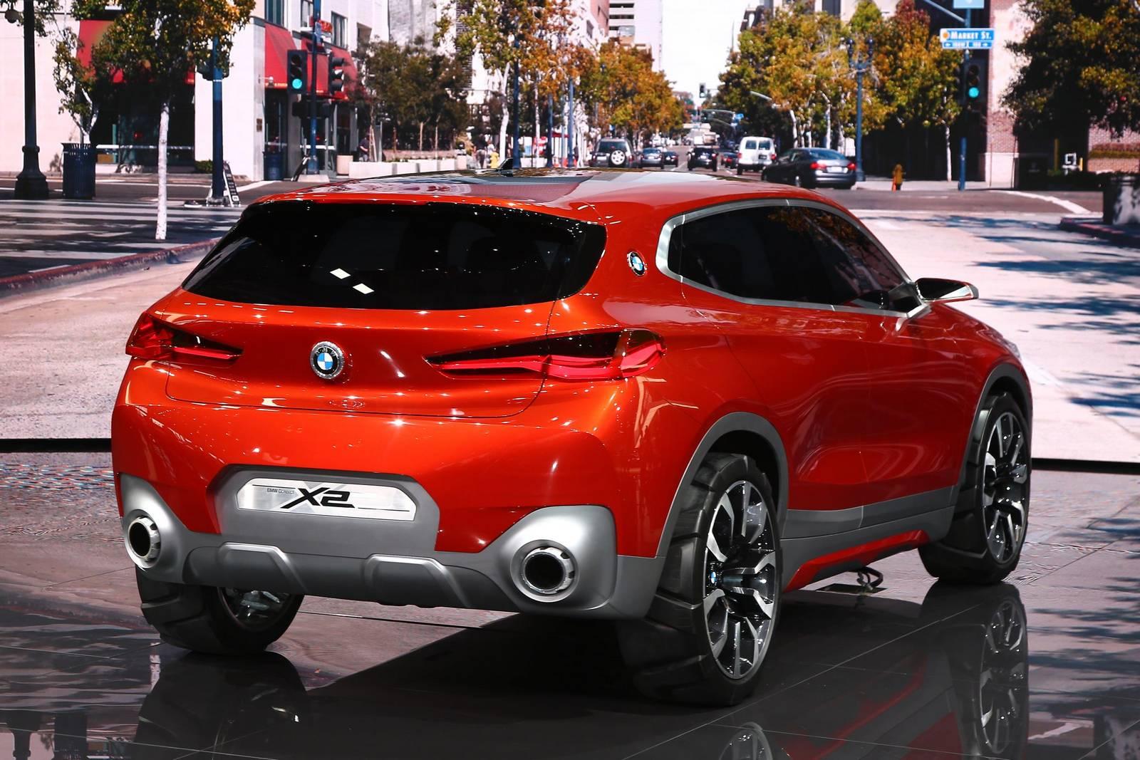 Paris 2016: BMW X2 Concept - GTspirit