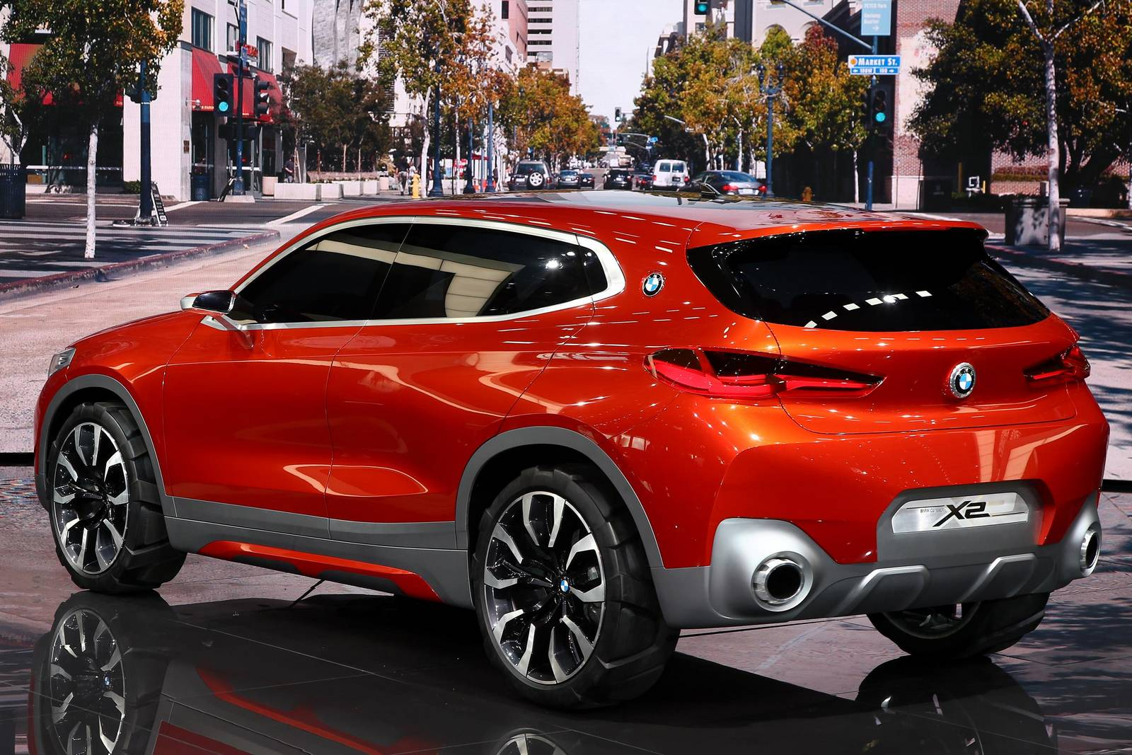 Paris 2016: BMW X2 Concept - GTspirit