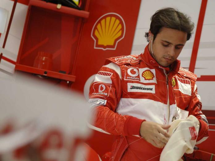Felipe Massa with Ferrari - Silverstone 2006