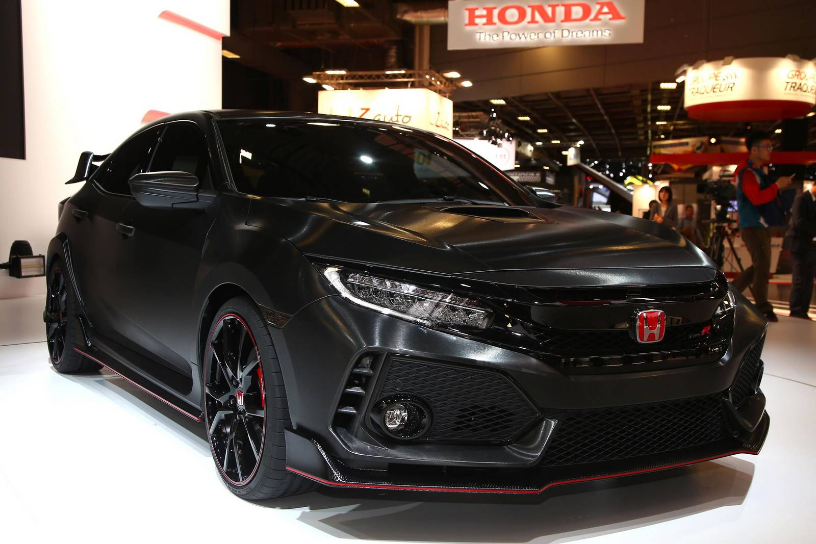 paris 2016 honda civic type r prototype 5th generation. Black Bedroom Furniture Sets. Home Design Ideas